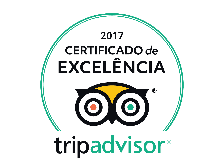 Certificado de Excelência 2017!
