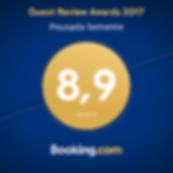 É com muita alegria que recebemos da Booking, maior agência de viagens do mundo, o certificado Guest Review Awards 2016!   Este prêmio é entregue para propriedades que proporcionam as melhores experiências aos clientes! @bookingcom   A melhor divulgação é o reconhecimento sincero de um cliente satisfeito e apaixonado por nossa Pousada. Agradecemos a todos os nossos hóspedes pelas ótimas notas de avaliação! Esse prêmio também é de vocês! #guestsloveus #pousadasemente #arraialdajuda#arraial #bahia #costadodescobrimento