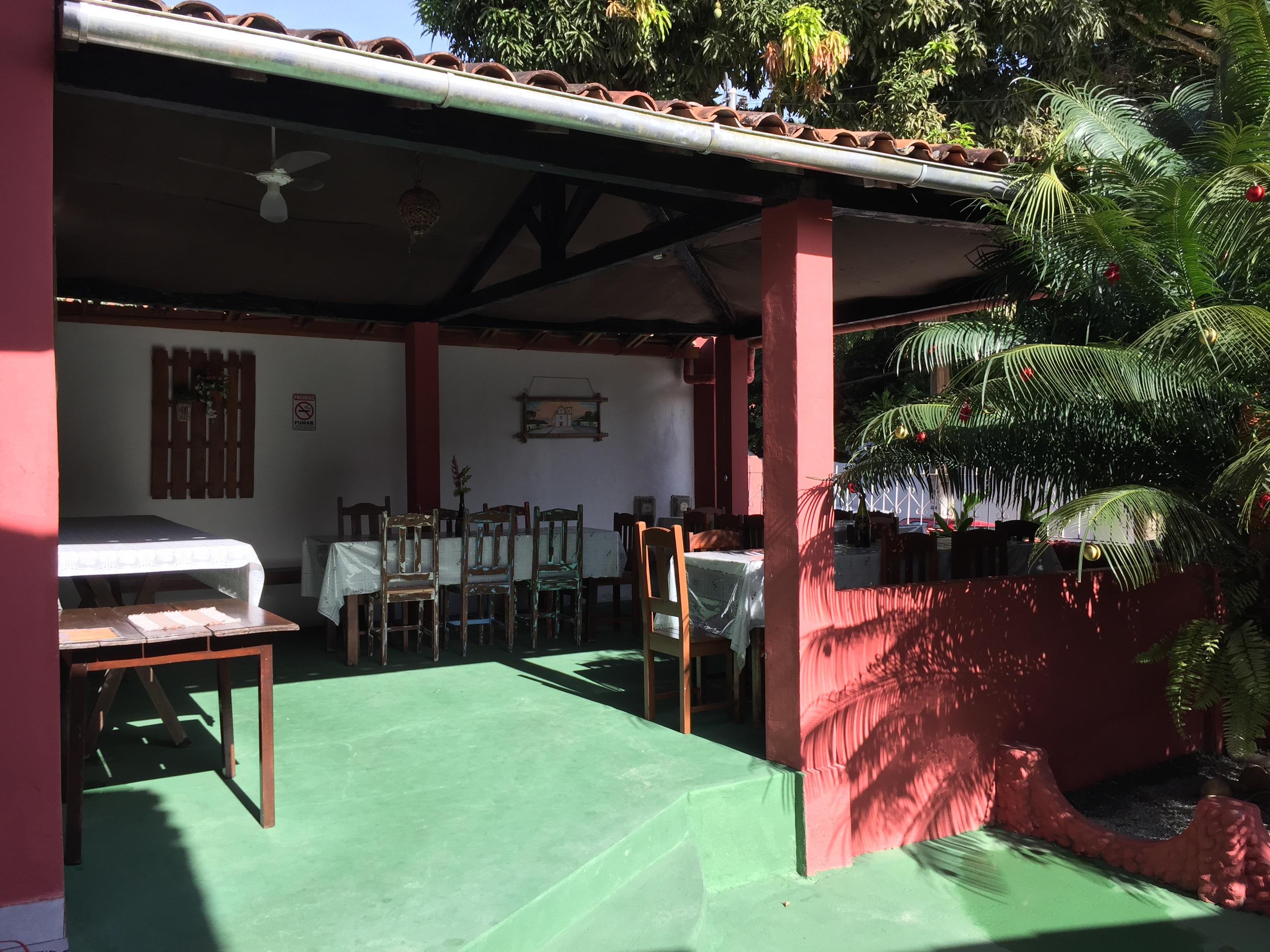 Área do Café da Manhã.