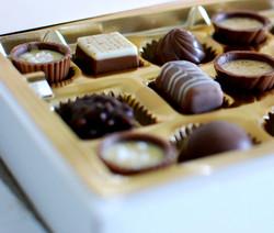 Calage chocolats