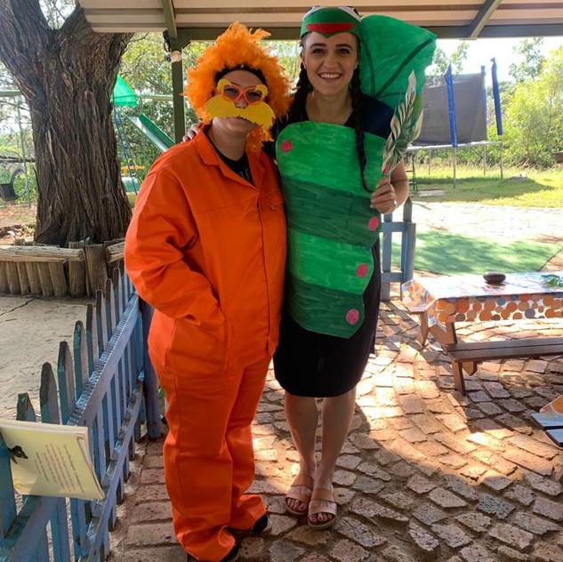 Teacher Jolene and Teacher Lizette