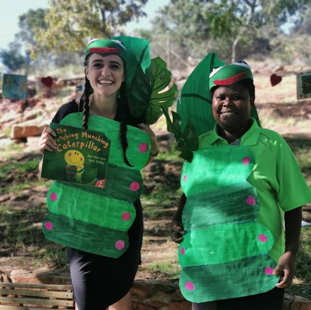 Teacher Jolene and Teacher Anna