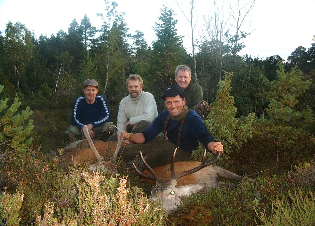 Hjortejakt på Otterøya