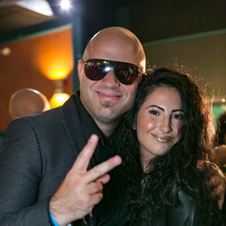 Makeup Artist and DJ Sterling