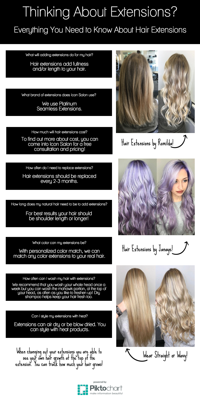 Thinking about hair extensions icon hair salon full service thinking about hair extensions pmusecretfo Image collections