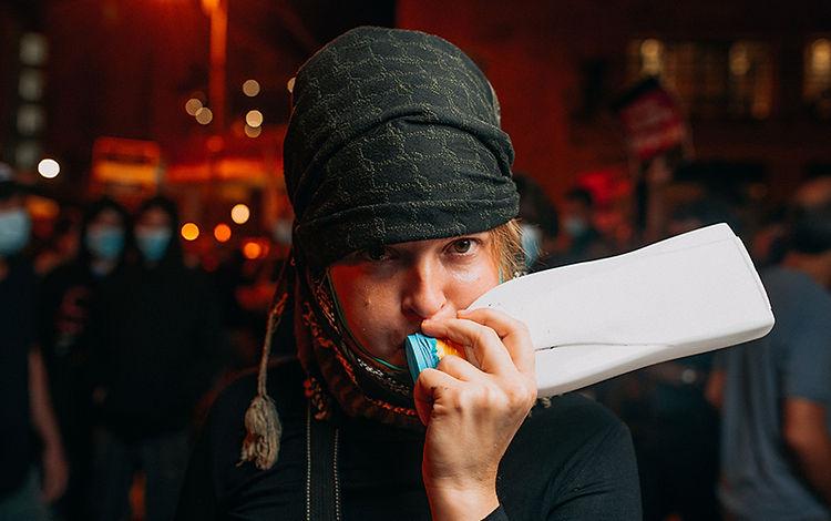 Noise maker from detergent bottle, ballo