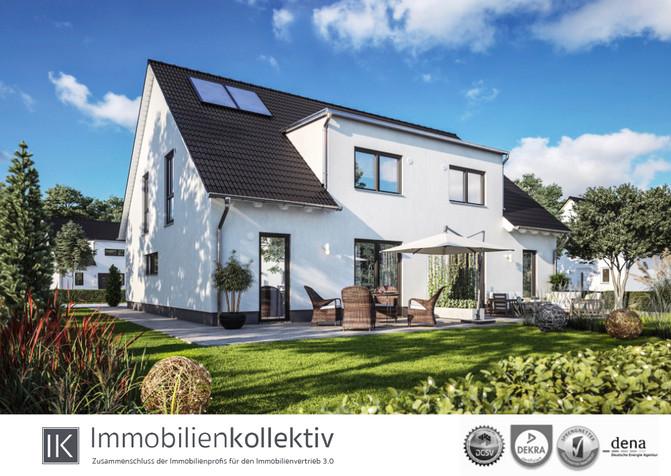 Verkauft!!! Neubau Energiespar DHH: ca. 140 qm Wohn-/Nutzfläche in gesuchter Lage - inkl. Bauherren-