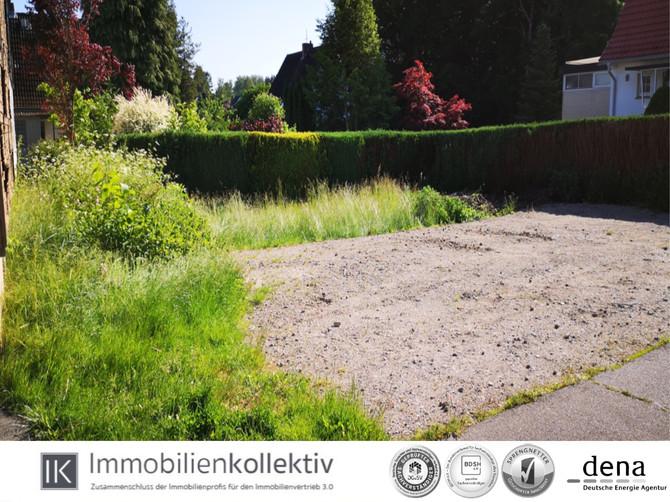 VERKAUFT! Baugrundstück für Einzelhaus mit bis zu 2 WE in ruhiger Lage von Seevetal bei Hamburg !!!