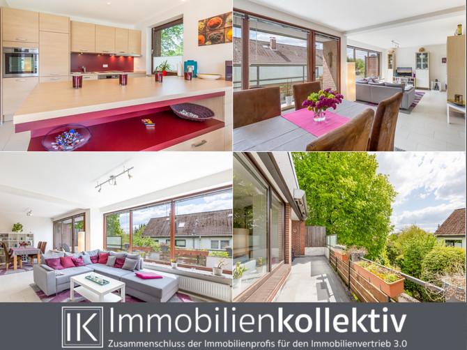 REFERENZ: TOP modernisiert: ca. 122 qm Wohn-/Nutzfläche, Stellplatz, großer Balkon & 2 Keller in