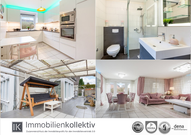 Verkauft!!! Wie eine Doppelhaushälfte: Junge Maisonettewohnung mit Gartenterrasse, Vollkeller &