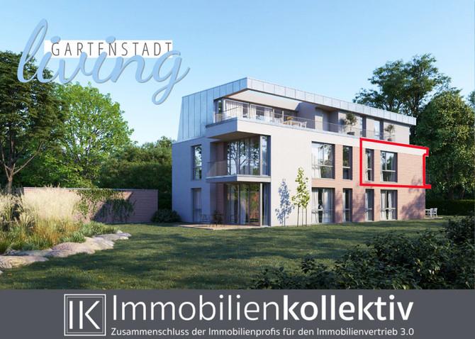VERKAUFT!!! Neubau 3-Zimmer-Wohnung mit Balkon, Keller, Parkett & 86 qm Wohn-/Nutzfläche in gesu