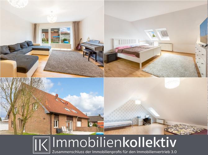 VERKAUFT !!! Ein Haus oder zwei Wohnungen: Jung & gepflegt, mit über 200 qm Wohnfläche, zum TOP