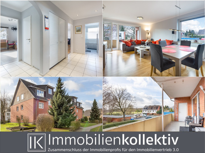 VERKAUFT !!! TOP modernisiert, 4 Zimmer, Loggia & Pkw-Stellplatz in ruhiger Lage!