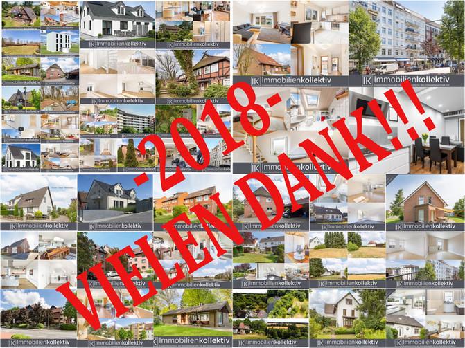 Rückblick 2018 und Ausblick auf neue Immobilien 2019 !!!