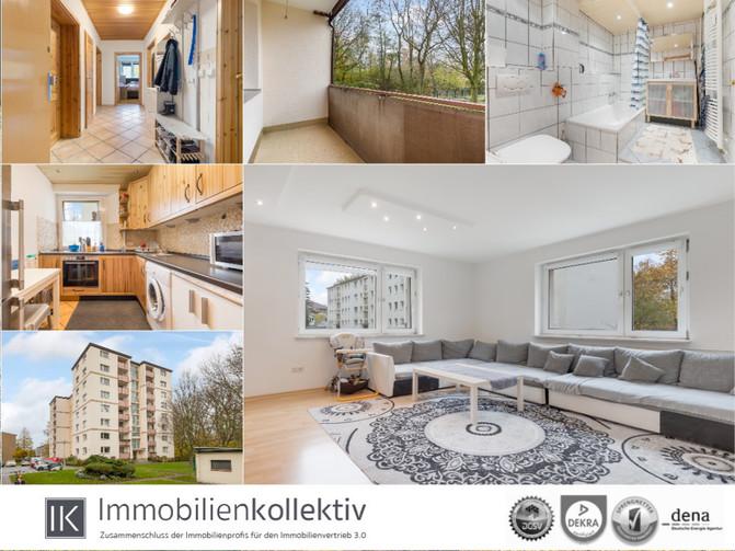 Gepflegte Eigentumswohnung inkl. Keller & Loggia in gesuchter Lage von Hamburg - Wilhelmsburg !!