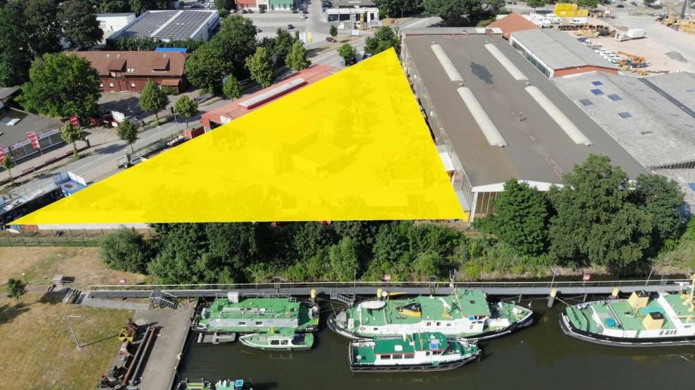 Immobilie Grundstück Mehrfamilienhaus kaufen verkaufen Neubau Immobilienkollektiv Hafencity Hafen Elbe Projekt Fläche
