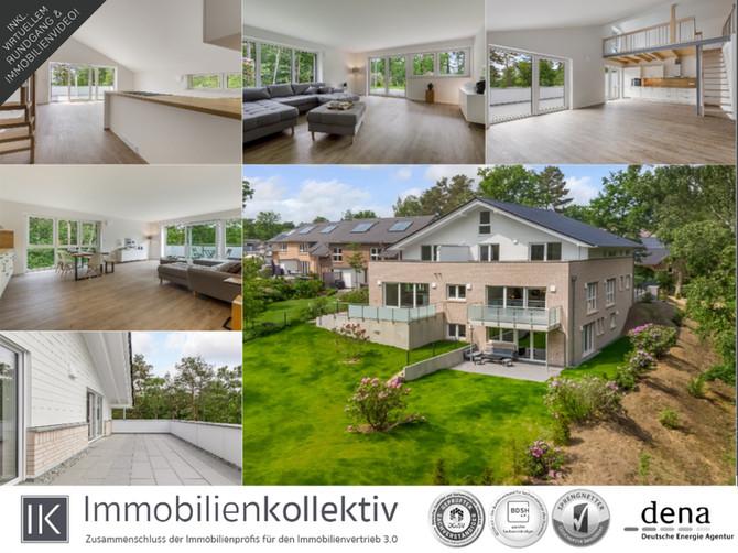 Reserviert! 5 hochwertige & exklusive Neubau Wohnungen (Erstbezug!) in Buchholz bei Hamburg !!!