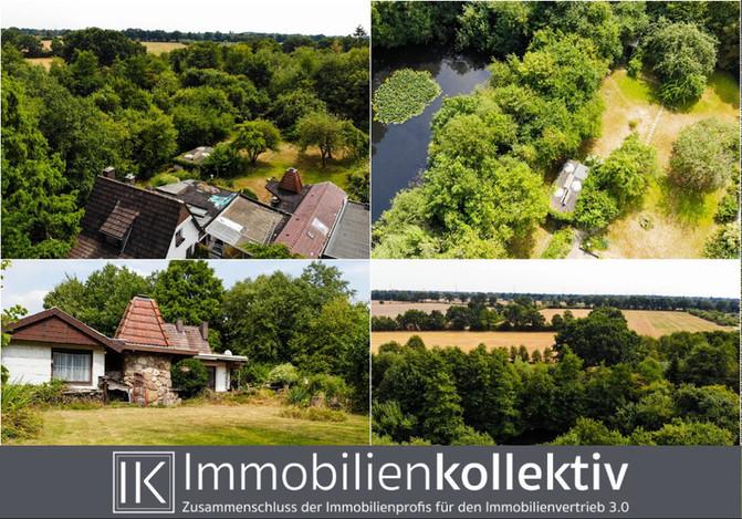 VERKAUFT: Hamburg-Rahlstedt: Ein wohl einmaliges Baugrundstück mit riesigem Baufeld, direkt angrenze