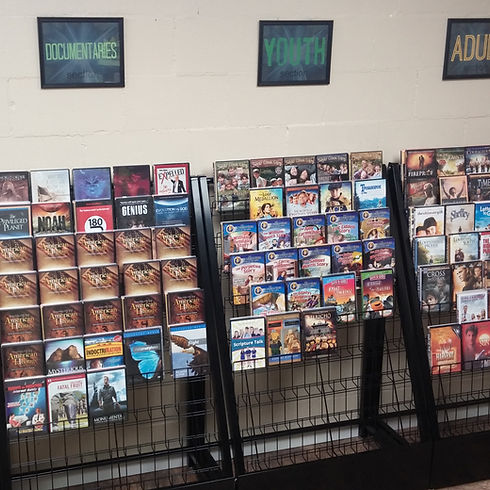 Free Video Library at Gethsemane Church Pekin IL