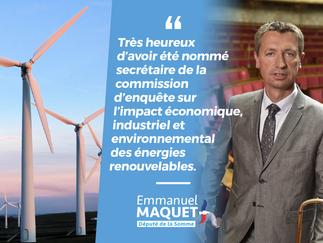 Communiqué de presse :Emmanuel Maquet est nommé secrétaire de la commission d'enquête sur les é