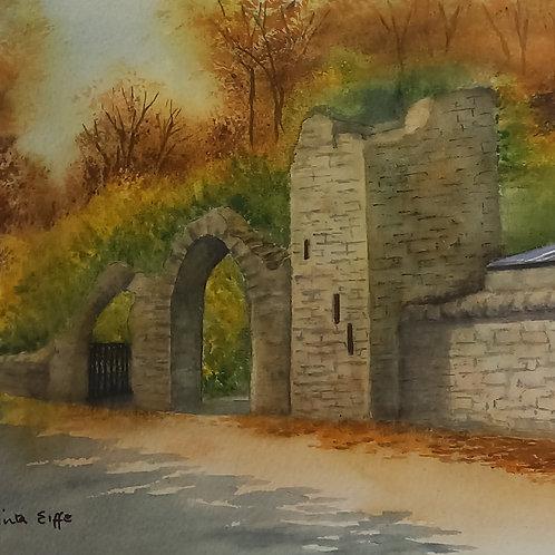 Entrance to Dunsany