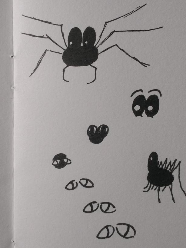 Discarded spider design