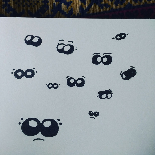 Eyes for a character (Spider)