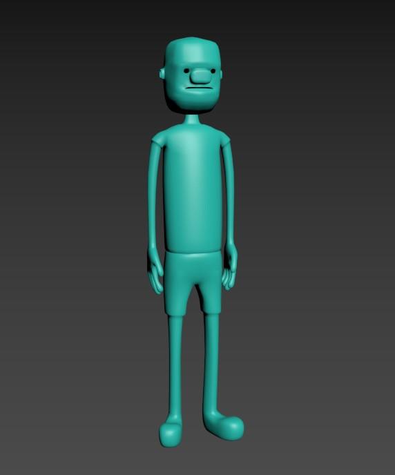 New character model
