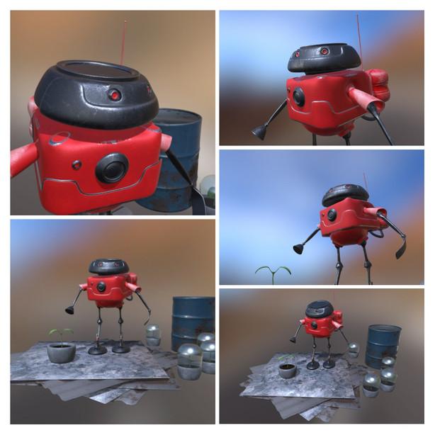 Posed Robot