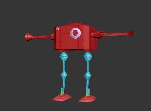 Rough robot model