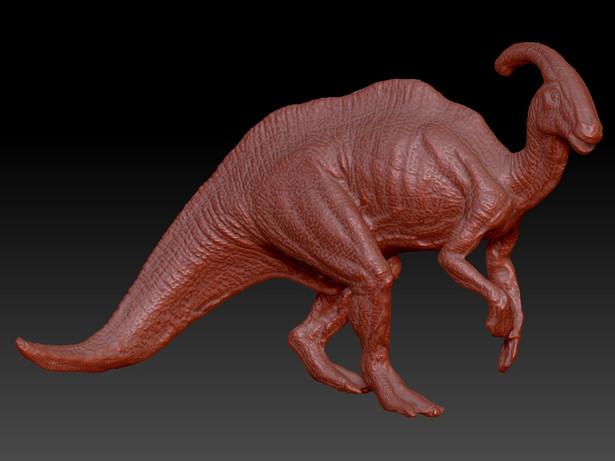 Dinosaur Zbrush model