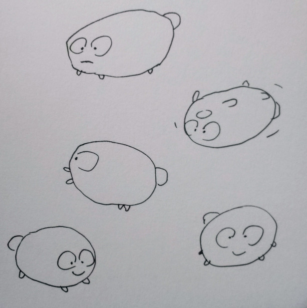 Expressions on a creature