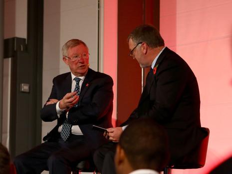 Sir Alex Ferguson & Ray Stubbs