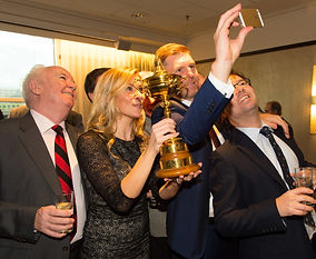 Guests with the Ryder Cup