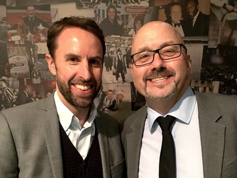 Gareth Southgate & Mark Clemmit