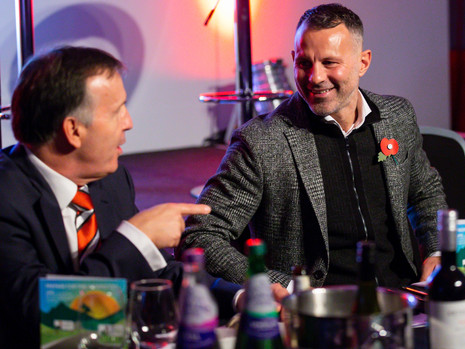 Ryan Giggs & Guest