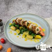 Hähnchen Saltimbocca mit Zucchini und R