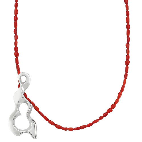 Essence Necklace Coral