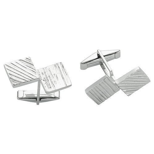 Double Square Cufflinks