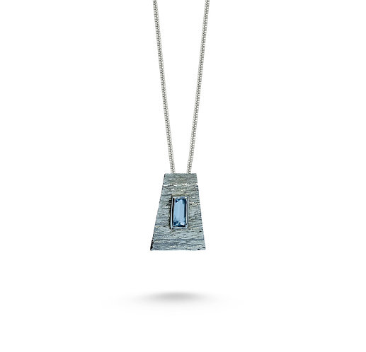 Aquamarin Trapez Necklace