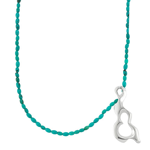 Essence Necklace Turquoise