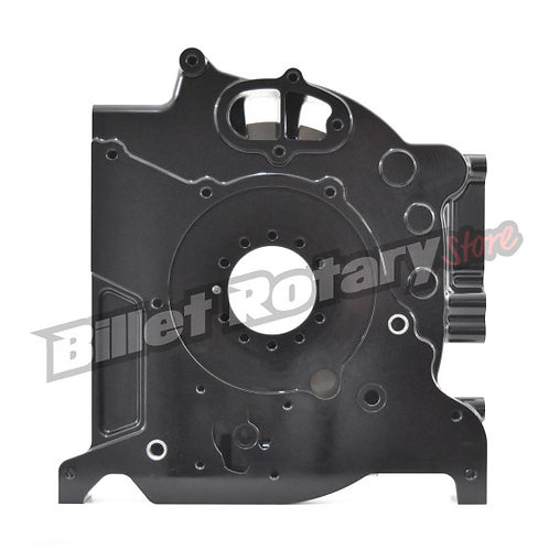 Billet Pro Black Anodised Rotary Front plate