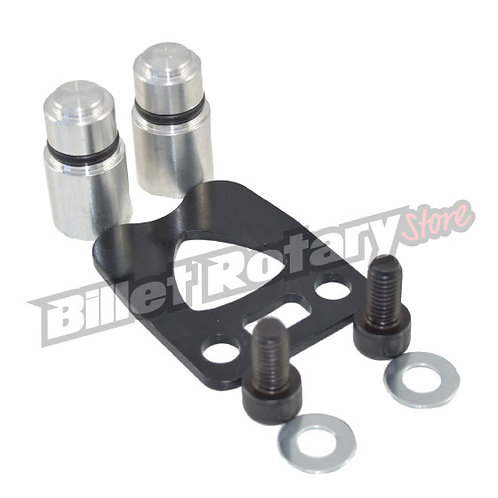 Rotary engine Centre plate injector block off