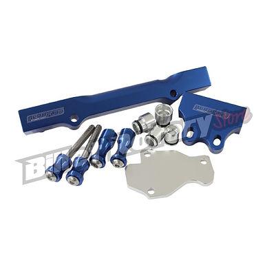 Aeroflow (GEN-2) Fuel Rail Kit (FD) RX-7 (Blue)