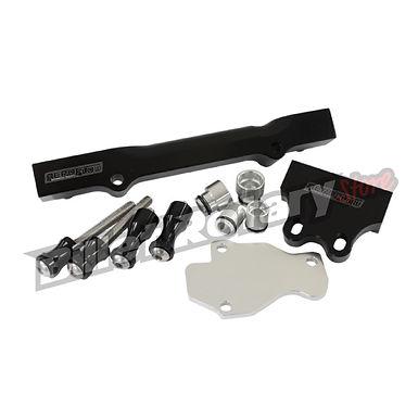 Aeroflow (GEN-2) Fuel Rail Kit (FD) RX-7 (Black)