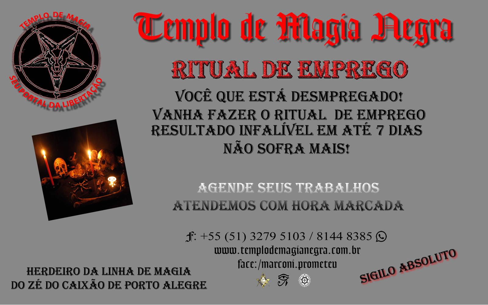 Ritual de EMPREGO JAN 2016