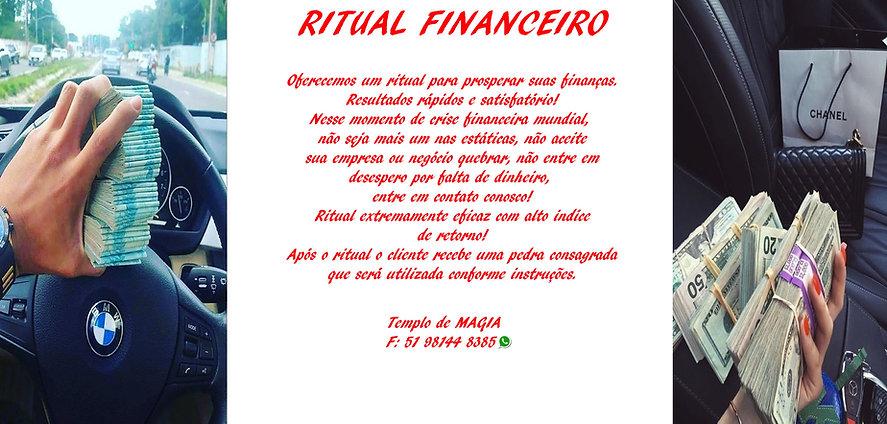 Ritual de Prosperidade Financeira Mar 20