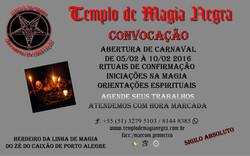 Abertura de carnaval 2016