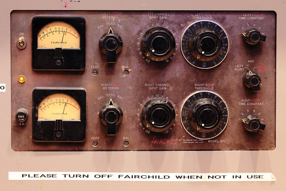 Faichild 670 compressor