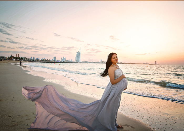 Maternity outdoor session